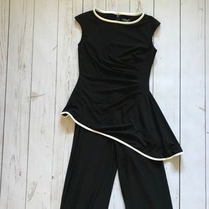 LAUREN Ralph Lauren | Black & White Jumpsuit | NEW